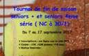 TOURNOI DE FIN DE SAISON 7 au 17 septembre